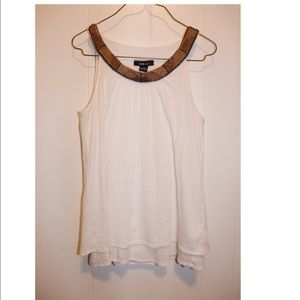 Style&co Sleeveless top Blouse size 4